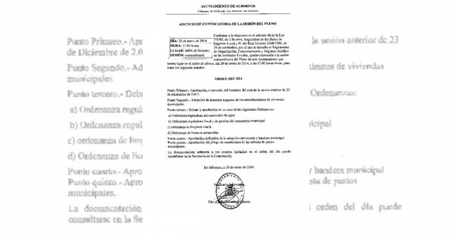 Convocatoria pleno_20012014