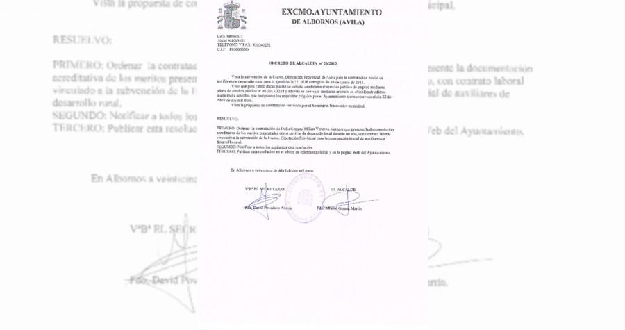 Decreto resolucion proceso auxiliar desarrollo rural